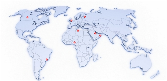 Move Your Mouse Over The Map To Find Your Local De Flow Office Or  Distributor.